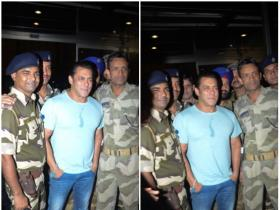 Salman Khan spotted by the paps at the airport