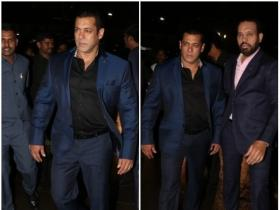 Salman Khan's style at Poorna Patel's wedding reception is on point