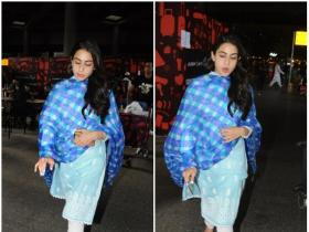 Sara Ali Khan gets papped at the airport