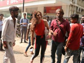 Sara Ali Khan gets snapped by the paparazzi post dance rehearsals