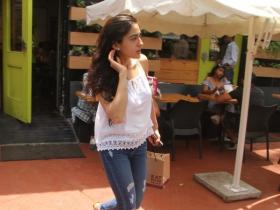 Sara Ali Khan looks pretty as she gets snapped in the city