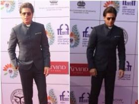 Shah Rukh Khan snapped at IFFI 2017 in Goa