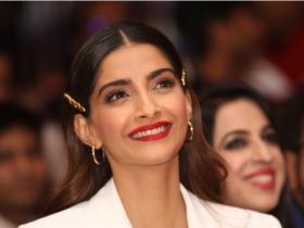 Sonam K Ahuja keeps it stylish at the event