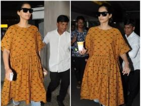 Sonam K Ahuja looks happy to be back in the city