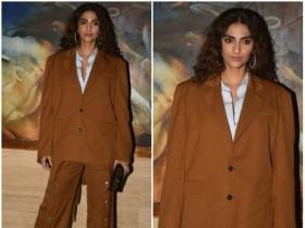 Sonam K Ahuja makes a stylish appearance at an event