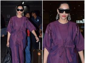 Sonam K Ahuja's airport look is all things stylish