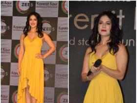 Sunny Leone gets snapped at an event in the city