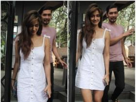 Disha Patani snapped in the city