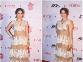 Sunny Leone turned heads at the Beauty Awards