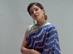 Samantha Akkineni to Pooja Hegde: Blue saree looks of South actresses which left fans mesmerized; See PICS