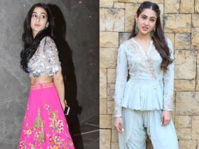 Floral Pink Lehenga to Salwar Kameez: 10 Sara Ali Khan inspired ethnic looks to unleash the desi girl in you