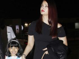 Aishwarya Rai Bachchan's obsession with the colour black for her airport looks is revealed with these PHOTOS
