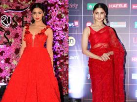 PHOTOS: 8 Times Alia Bhatt looked ravishing in red outfits and made jaws drop