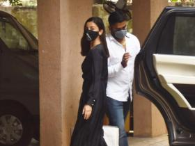PHOTOS: Alia Bhatt stuns in a black jumpsuit as she is spotted outside Sanjay Leela Bhansali's office
