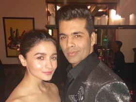Alia Bhatt shares a strong bond with Karan Johar and THESE pictures are a proof; Check it out
