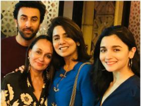 PHOTOS: Check out Alia Bhatt's adorable moments with Ranbir Kapoor and his family