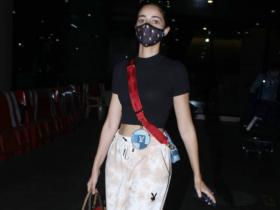 Ananya Panday adds two Louis Vuitton bags to her latest airport look & their prices will make your jaws drop