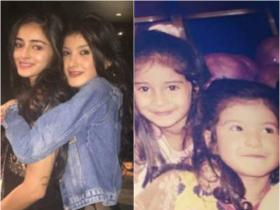 Pati Patni Aur Woh star Ananya Panday's pics with Shanaya Kapoor will give you BFF goals; Check it out