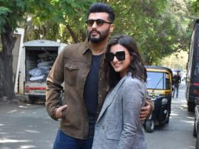 Arjun Kapoor and Parineeti Chopra step out in style for Sandeep Aur Pinky Faraar promotions; See PHOTOS