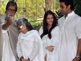 Aishwarya Rai and Abhishek Bachchan's candid photos with family are hard to miss
