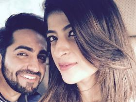 Ayushmann Khurrana and Tahira Kashyap's romantic snaps are too cute to miss; Check it out