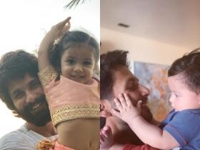 Shahid Kapoor Birthday Special: The Jersey actor is a doting father to his children Misha and Zain; Check out