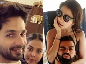 Shahid Kapoor, Mira Rajput to Anushka Sharma, Virat Kohli, check out the stars goofy pics that you can't miss
