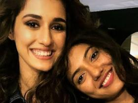 Disha Patani's THESE adorable pictures with siblings Khushboo and Suryansh are all things love