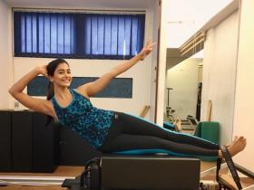 Pooja Hegde's workout pictures will inspire you to hit the gym; Check it out