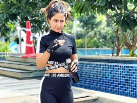 When Hina Khan's captivating gym looks ruled her social media posts; See PHOTOS