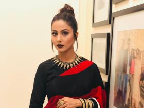 Hina Khan's traditional look in sarees is unmissable; Check out THESE 5 photos