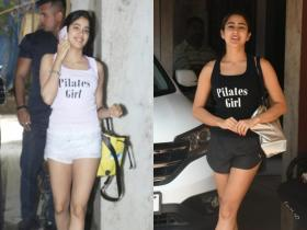 Janhvi Kapoor to Sara Ali Khan, here's the list of B town actresses who are an avid Pilates lover