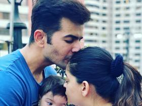 Jay Bhanushali and Mahhi Vij's pictures with their bundle of joy Tara personify cuteness
