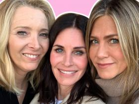 Jennifer Aniston, Courteney Cox and Lisa Kudrow's THESE reunion photos will beat your Monday blues