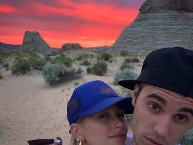 Justin Bieber & Hailey Bieber's romantic pics won't let you take your eyes off them; Check it out