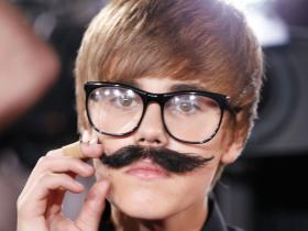 Justin Bieber looks hilarious sporting a fake mustache and big glasses; See THROWBACK Photos