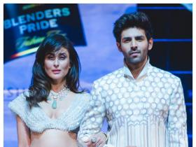 Kareena Kapoor and Kartik Aaryan walk the ramp; Check out the duo's interesting statements about each other