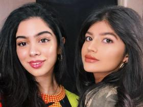 Khushi Kapoor and Varun Dhawan's niece Anjini Dhawan set major friendship goals; See PHOTOS