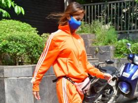 Disha Patani proves 'Orange is the new Black' with her latest look as she is spotted in the city; See PHOTOS