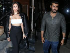 PHOTOS: Malaika Arora and Arjun Kapoor steal the limelight as they arrive at a party