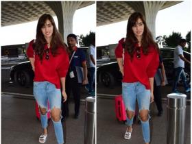 Disha Patani snapped at airport