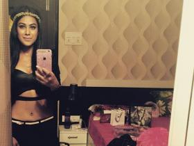 PHOTOS: Nia Sharma looks like an absolute diva as she shows fans how to click mirror selfies