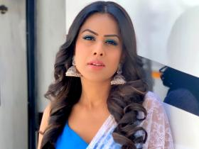 Nia Sharma: From blue eyeshadow to black lips; the actress' experimental BEAUTY looks deserve a shoutout