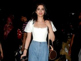 PHOTOS: When Khushi Kapoor stepped out at her stylish best with a Louis Vuitton bag worth Rs 2 lakh