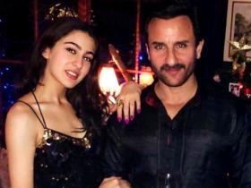 Saif Ali Khan and Sara Ali Khan's priceless moments show their lovable father daughter bond; See Photos