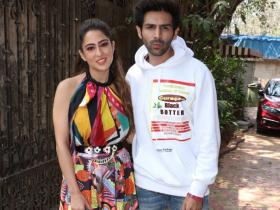 Sara Ali Khan and Kartik Aaryan's chemistry during Love Aaj Kal promotions is hard to miss