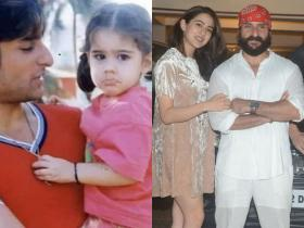 From Sara Ali Khan to Ibrahim Ali Khan, check out the before and after photos of Bollywood star kids