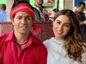 Sara Ali Khan's THESE behind the scene pictures from her movies are unmissable