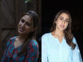 Sara Ali Khan looks resplendent in traditional outfits; Check it out