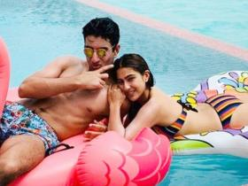 Sara Ali Khan and Ibrahim Ali Khan: Childhood snaps to desi looks; Check out these VIRAL pics of the siblings